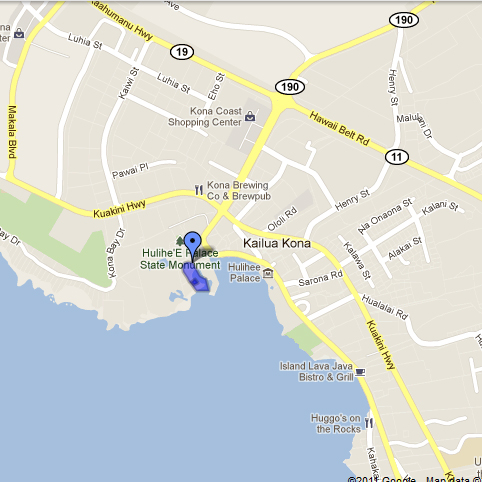 Map to the Beach Shack