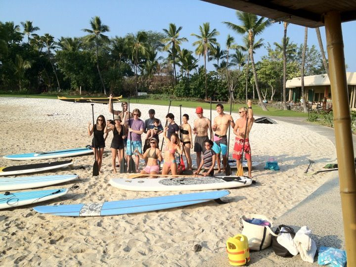 Stand Up Paddling Lesson